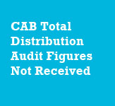 CAB Figures Not Received