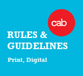 CAB Rules &amp; Guidelines Print &amp; Digital